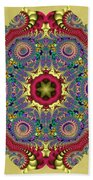 The Red Dragon Beach Towel