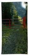 The Red Gate Beach Towel