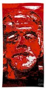 The Red Monster Beach Towel
