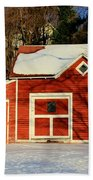 The Red Shed Beach Towel