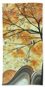 The Resting Place By Madart Beach Towel