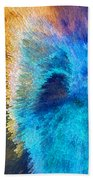 The Right Direction - Abstract Art By Sharon Cummings Beach Towel