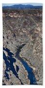 The Rio Grande River-arizona  Beach Towel