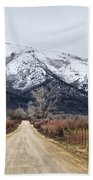 The Road To Soldier Creek Beach Towel