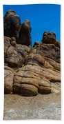 The Rock Formation Beach Towel