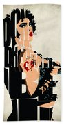 The Rocky Horror Picture Show - Dr. Frank-n-furter Beach Towel
