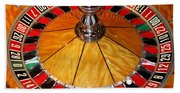 The Roulette Wheel Beach Towel
