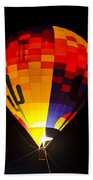 The Saguaro Balloon  Beach Towel