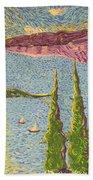 The Sailing Cove Beach Towel