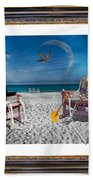 The Scientist's Vacation Beach Towel