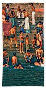 The Scolding Beach Towel