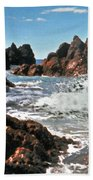 The Sea Abounds Beach Towel