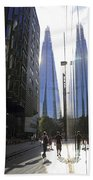 The Shard London Beach Towel
