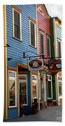 The Shops In Crested Butte Beach Towel