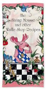 The Shrimp Moose And Other Waffle Shop Recipes Cookbook Calvary Church Memphis Tn Beach Towel