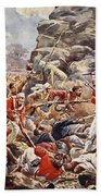 The Siege Of Delhi, 1857 Storming Beach Towel