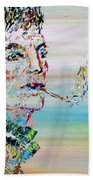 The Smoker Beach Towel