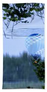 The Source Of Lake Ripples 01 Beach Towel