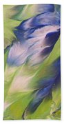 The Spirit Of A Hummingbird Beach Towel