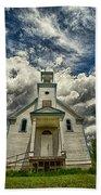 The Squaw Bay Church Beach Towel by Jakub Sisak
