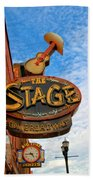 The Stage On Broadway Beach Towel