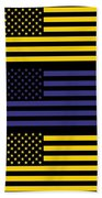 The Star Flag Beach Towel by Tommytechno Sweden