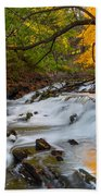The Still River Beach Towel by Bill Wakeley