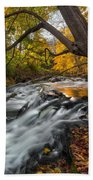 The Still River Square Beach Towel by Bill Wakeley