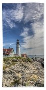 The Storm Approaches Beach Towel