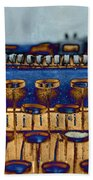 The Story Told 3 Beach Towel by Angelina Vick