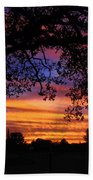 The Sun Sets For Mike Beach Towel