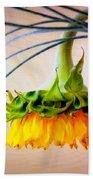 The Sunflower Speaks Beach Towel