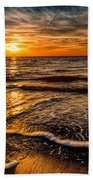 The Sunset Beach Towel by Adrian Evans