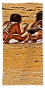 The Suntan Girls Beach Towel