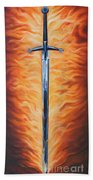 The Sword Of The Spirit Beach Towel