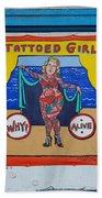 The Tattoed Girl Beach Towel