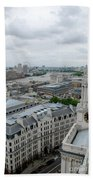 The Thames From St Paul's Beach Towel