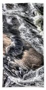 The Tide From Above Beach Towel