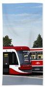 The Toronto Streetcar 100 Years Beach Towel