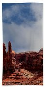 The Totems Monument Valley Beach Towel