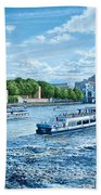 The Tower Of London Beach Towel
