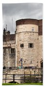 The Tower Of London Uk The Historic Royal Palace And Fortress Beach Sheet