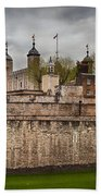 The Tower Of London Uk The Historic Royal Palace Beach Towel