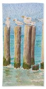 The Town Meeting Beach Towel