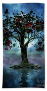 The Tree That Wept A Lake Of Tears Beach Towel
