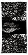 The Tree Watcher Beach Towel