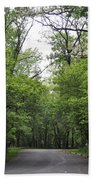 The Trees Of Illinois Beach Towel