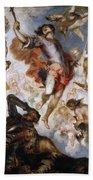 The Triumph Of Saint Hermenegild Beach Towel