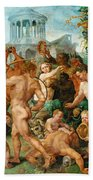 The Triumphal Procession Of Bacchus Beach Towel