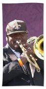 The Trombone Player Beach Sheet